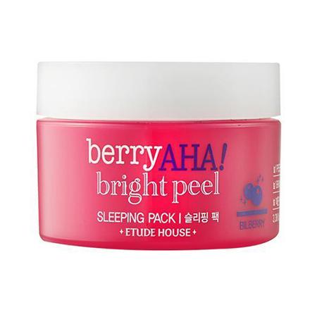 Ночная маска с ягодными кислотами berry aha etude house (Etude House)