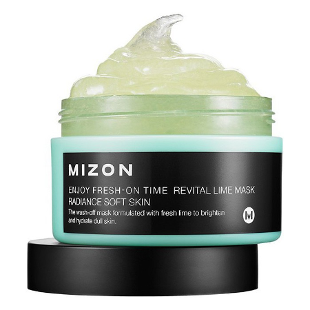 Маска для лица enjoy fresh-on time revital lime mask mizon от DeoShop.ru
