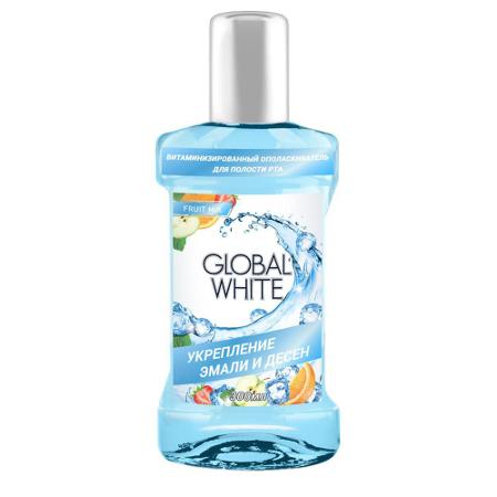 Витаминизированный ополаскиватель global white