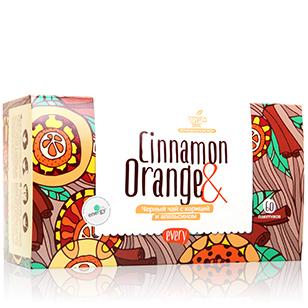 Черный чай с корицей и апельсином every cinnamon&orange curtis orange chocolate черный чай в пирамидках 20 шт