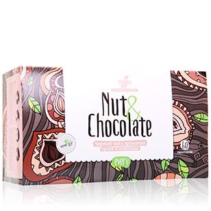 Черный чай с ароматом ореха и шоколада every nut&chocolate curtis orange chocolate черный чай в пирамидках 20 шт