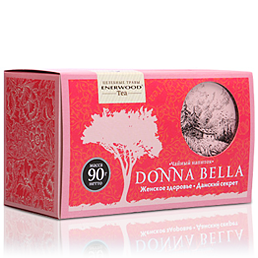 Чайный напиток для укрепления женского здоровья donna bella (Energy Diet)