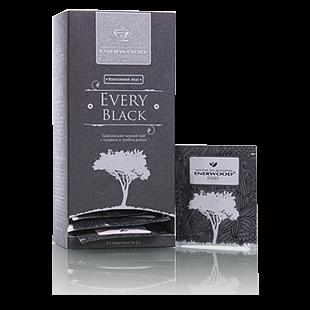 цена Цейлонский черный чай с кипреем и грибом рейши every black mini