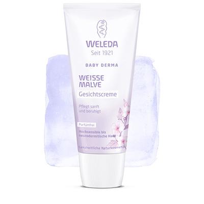 Крем для гиперчувствительной кожи лица с алтеем weleda