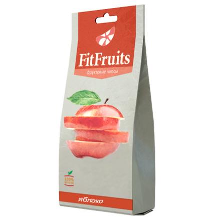 Фруктовые чипсы яблоко fitfruits