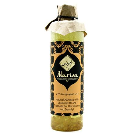 Шампунь для объема и густоты волос с маслом нарда и пажитником adarisa D12192