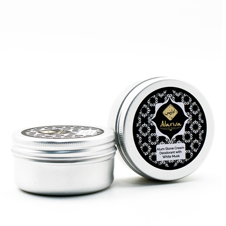 Алунитовый крем-дезодорант с белым мускусом adarisa adarisa алунитовый крем дезодорант нейтральный без запаха 50 гр