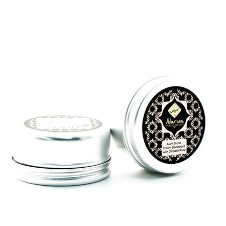 Алунитовый крем-дезодорант с дамасской розой adarisa adarisa алунитовый крем дезодорант нейтральный без запаха 50 гр