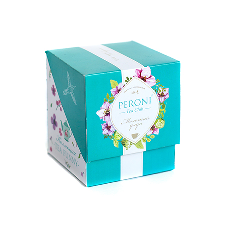 Чай байховый листовой типа оолонг китайский tea funny молочный улун (картонная упаковка) peroni