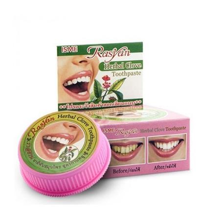 Отбеливающая зубная паста rasyan herbal индийская зубная паста meswak