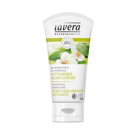 Матирующий биокрем баланс зеленый чай lavera биокрем ночной восстанавливающий энергетический lavera