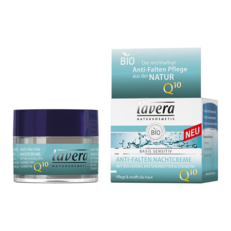 Биокрем ночной против морщин с коэнзимом q10 lavera биокрем ночной восстанавливающий энергетический lavera
