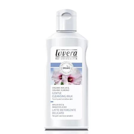 Мягкое очищающее био-молочко lavera био молочко очищающее 2 в 1 basic lavera