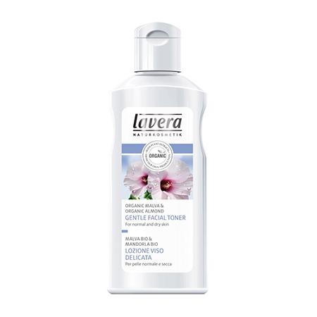 Мягкий био-тоник для лица lavera очищающий био скраб для лица lavera