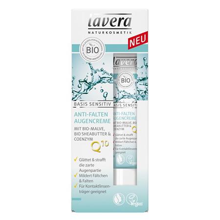 Биокрем для контура глаз q10 против морщин lavera недорого
