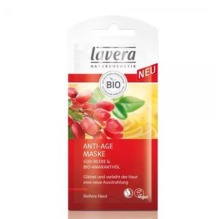 Биомаска для лица антивозрастная с ягодами годжи и маслом амаранта lavera