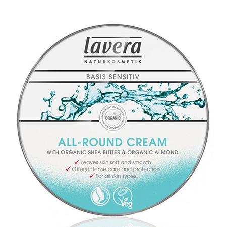 Мягкий био-крем для тела универсальный basis sensitiv lavera недорого