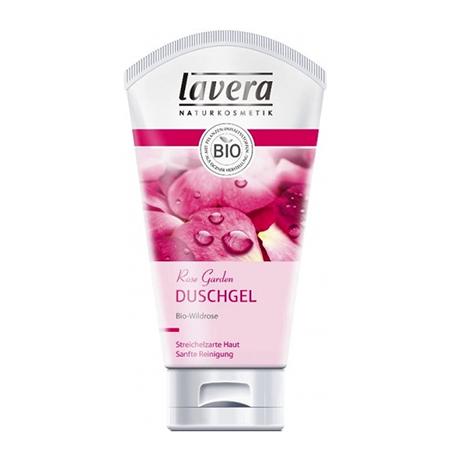 Биогель для душа и ванны розовый сад body spa lavera 2924