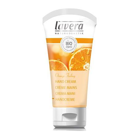 Биокрем для рук апельсиновое чувство в органзе lavera