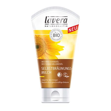 Био-автобронзат для лица и тела lavera очищающий био скраб для лица lavera