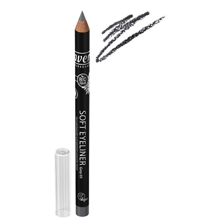 Мягкий карандаш для глаз серый lavera 3238