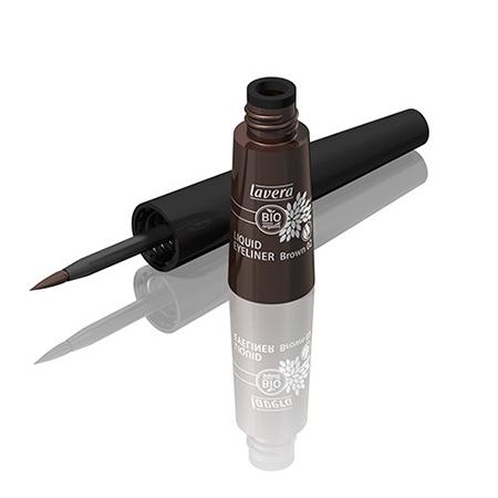 Жидкая подводка для глаз коричневая lavera