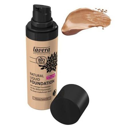 Натуральная жидкая основа медовый песочный 03 lavera мягкий био тоник для лица lavera