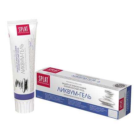 Зубная паста ликвум - гель splat