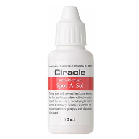 Средство точечное от акне ciracle anti-blemish spot a-sol ciracle тоник ciracle anti blemish toner