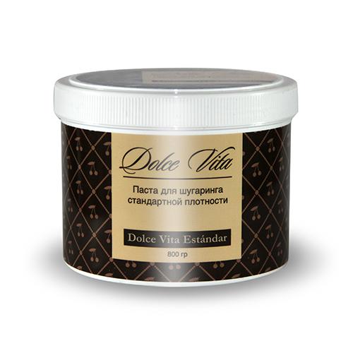 Сахарная паста для эпиляции estandar (стандартная) 800 гр dolce vita (Dolce Vita)