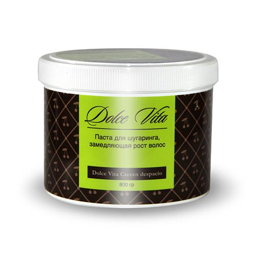 Сахарная паста для эпиляции замедляющая рост волос 800 гр dolce vita