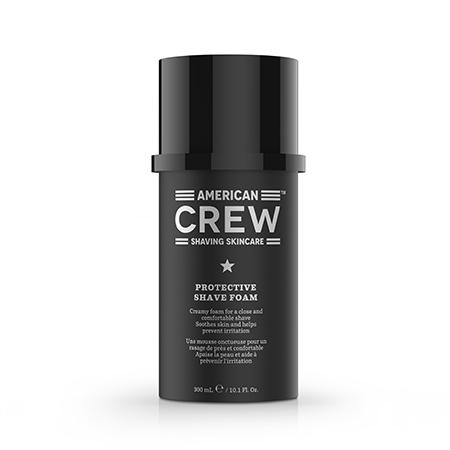 Защитная пена для бритья protective shave foam 300 мл american crew пена для бритья зачем