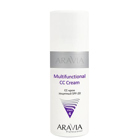 Cc-крем защитный spf-20 multifunctional cc cream aravia chanel 5ml cc cc cream