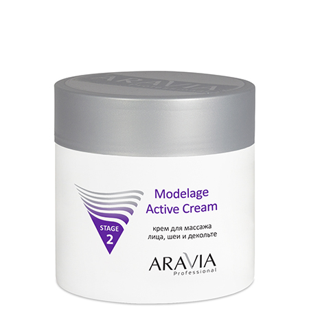 Крем для массажа modelage active cream aravia крем aravia professional modelage active cream