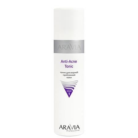 Тоник для жирной проблемной кожи anti-acne tonic aravia aravia крем сыворотка для проблемной кожи anti acne serum 150 мл
