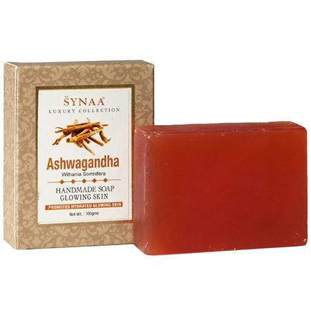 Мыло ручной работы ашваганда synaa ааша
