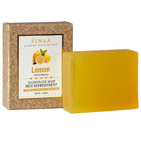 Мыло ручной работы лимон synaa ааша
