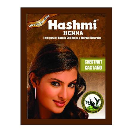 Хна для волос каштан 6*10 гр hashmi масло амлы для волос hashmi