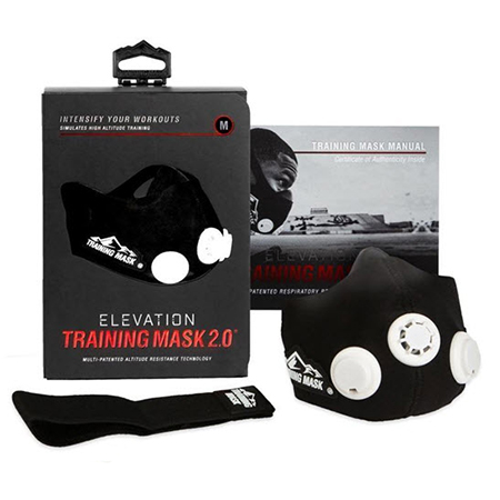 Тренировочная маска elevation training mask 2.0