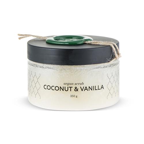 Аргановый скраб солевой кокос-ваниль huilargan аргановый скраб солевой малина huilargan