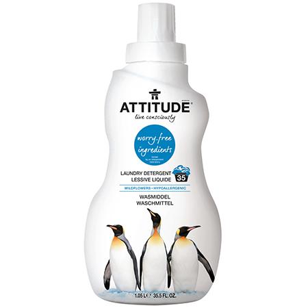 Концентрированное средство для стирки wildflowers attitude жидкость аквакемблю жидкость для б туалета 2л