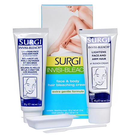 Крем для обесцвечивания волос на лице и руках surgi