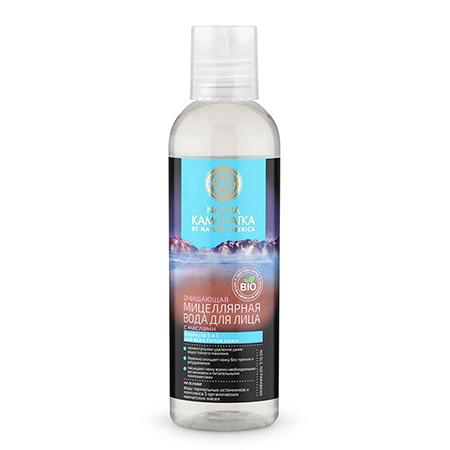 Очищающая мицеллярная вода для лица с маслами на основе биоактивной воды геотермальных источников kamchatka natura siberica