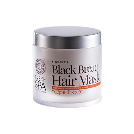 Маска для силы и блеска волос «чёрный хлеб» bania detox natura siberica natura siberica спрей для волос живые витамины энергия и рост волос by alena akhmadullina 125мл