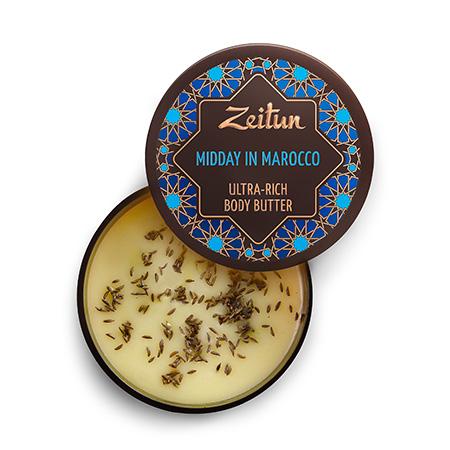 Крем-масло для тела марокканский полдень для подтяжки кожи зейтун масла зейтун органическое масло карите ши баттер