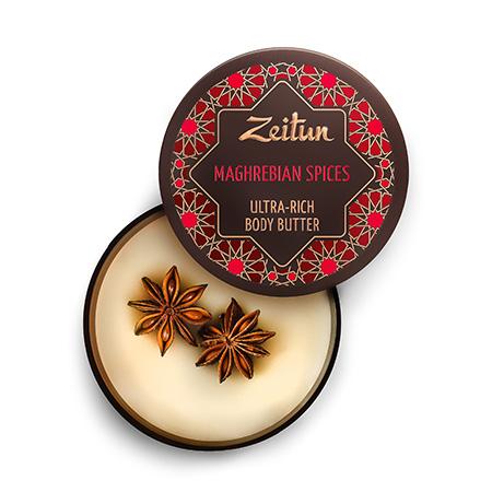 Крем-масло для тела магрибские специи профилактика старения зейтун
