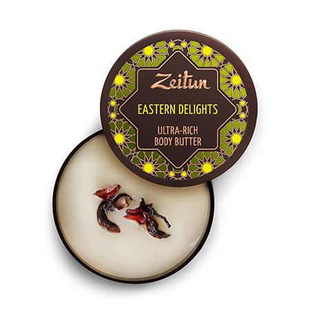 Крем-масло для тела восточные сладости интенсивное питание зейтун масла зейтун органическое масло карите ши баттер