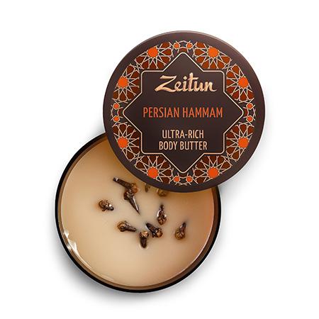 Крем-масло для тела персидский хаммам детокс и обновление зейтун