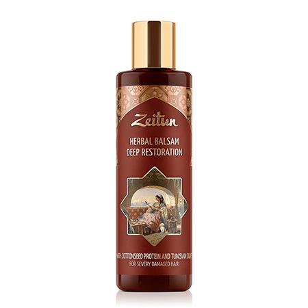 Глубоко восстанавливающий фито-бальзам для сильно поврежденных волос зейтун нивея боди бальзам sos для тела восстанавливающий 250мл 88183
