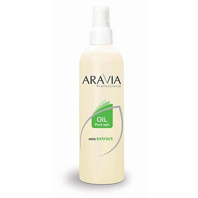 Масло после депиляции (охлаждающее) с экстрактом мяты aravia professional (Aravia)